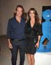 Cindy Crawford and Rande Gerber at Art Miami 2013.