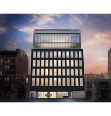 Rendering for 540 West 25th Street, Pace's new global headquarters in New York.