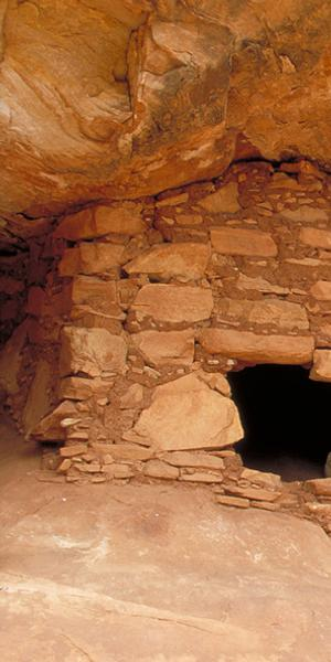 Puebloan granary in the Bears Ears National Monument