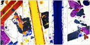 Sam Francis, Road of Ladders, 1984, from Art Miami exhibitor Hollis Taggart Galleries, booth B16.