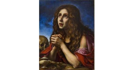 Dolci, Carlo, The Penitent Magdalene (ca.  1670).  Oil on canvas.