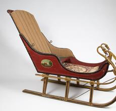 An Early 20th century Eagle's Head Sleigh