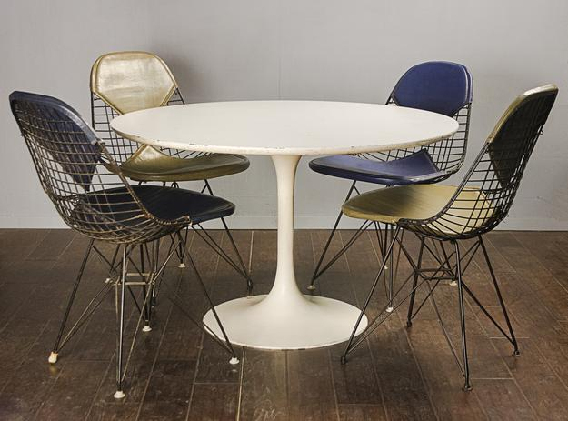 A lot of four Charles Eames for Herman Miller Bikini vinyl chairs will be in Witherell's spring auction April 8 to 22.