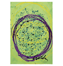 """Dale Chihuly, Echo Floats, 2018, Screenprint with hand-colouring, 94 x 63.5 cm / 37 x 25"""" © Chihuly Studio"""