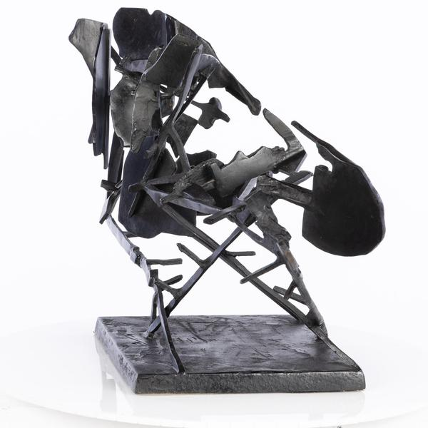 William Kentridge, Sculpture for Return (Commendatore Naso), Bronze, 2008