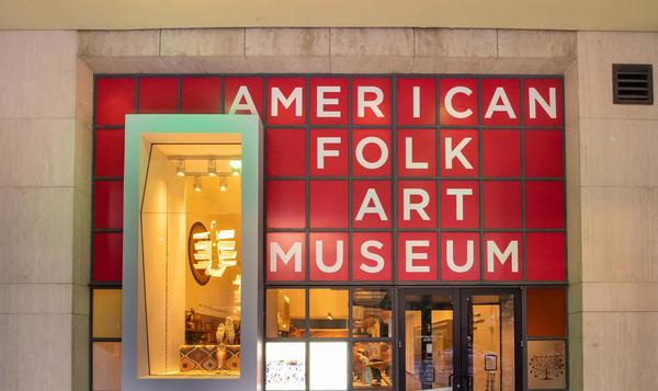 The American Folk Art Museum, New York, New York.