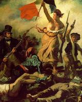 "Delacroix, ""Liberty Leading the People,"" 1830."