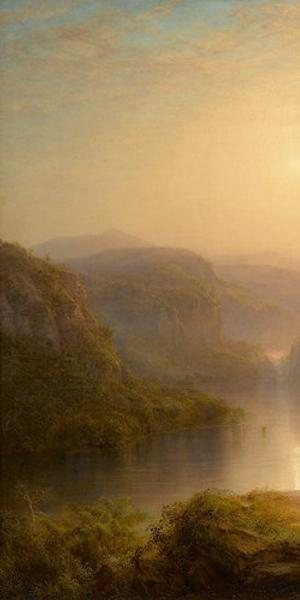 Frederic Church, Valley of the Santa Ysabel, 1875.