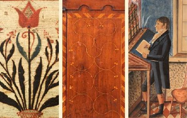 Winterthur presents Paint, Pattern & People: Furniture of Southeastern Pennsylvania, 1725–1850, from April 2, 2011 through January 8, 2012.