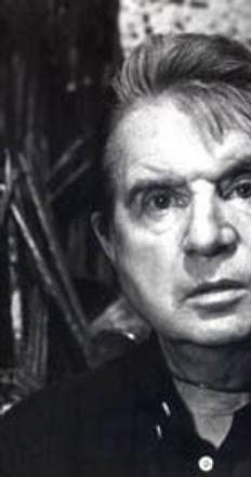 Francis Bacon photographed in the early 1980s