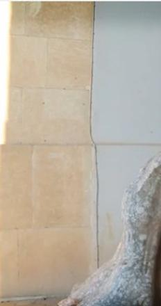 Still from the video of the ISIS attack on Nineveh Museum, Mosul, Iraq.