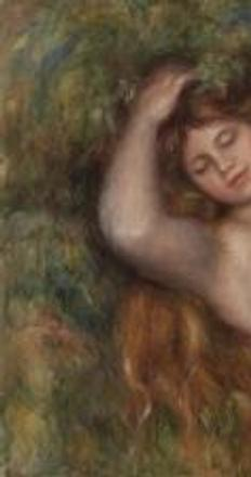Pierre-Auguste Renoir, Reclining Nude (Femme nue couchée) ), c.  1910 © 2015 The Barnes Foundation.