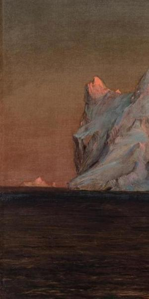 Frederic Church, The Iceberg, 1875.