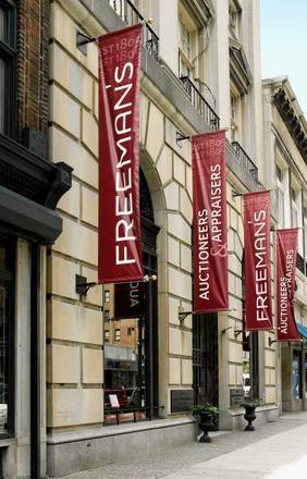 This year's event will be held in the galleries of Freeman's Auctioneers & Appraisers, at 1808 Chestnut Street in Philadelphia, Pa.