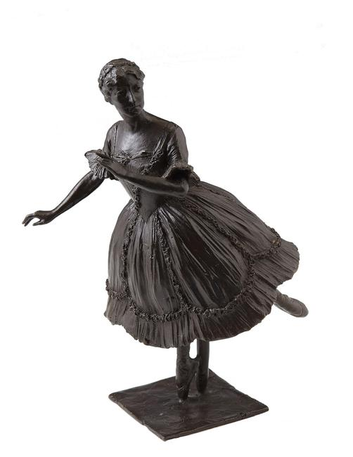 This 1909 sculpture proof by Boris Oskarovich Frodman-Cluzel (1878-1969), titled Ballet Dancer, 8 ¼ inches tall, is a strong candidate for top lot of the auction (est.  $6,000-$9,000).
