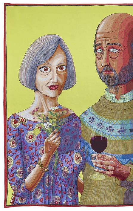 Grayson Perry, Julie and Rob, 2013 © Grayson Perry Courtesy the artist, Paragon | Contemporary Editions Ltd and Victoria Miro, London
