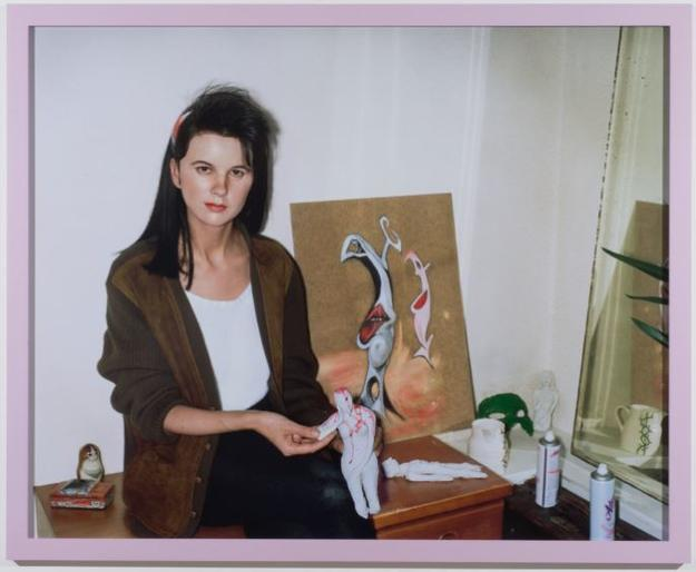 Gillian Wearing, Me as an Artist in 1984, 2014, chromogenic print.  © Gillian Wearing.  Courtesy of the artist, Tanya Bonakdar Gallery, New York, Maureen Paley, London and Regen Projects, Los Angeles