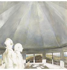 Andrew Wyeth, Ghosts, 2003 drybrush watercolor on paper.  The Andrew and Betsy Wyeth Collection © 2019 Andrew Wyeth/Artists Rights Society (ARS)