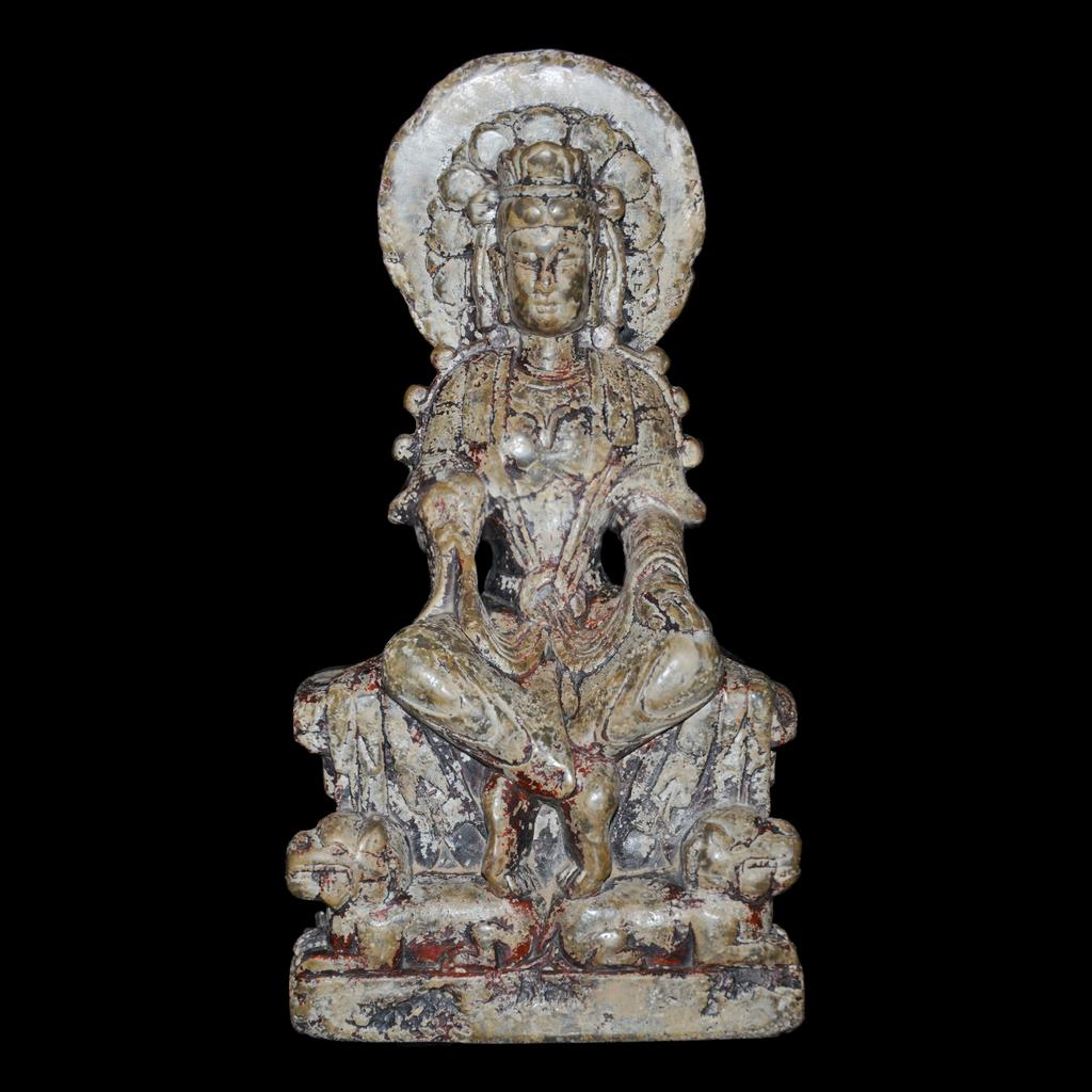 Wei Dynasty Bodhisattva.  Stone.  Lot 148.  Gianguan Auctions, June 10 sale.