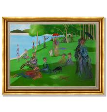 """After Georges Seurat's Sunday Afternoon,"" by Hsia Yan.  Gianguan Auctions.  December 12."