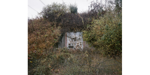 Joshua Dudley Greer (American, b.  1980), TNT Storage Igloo N6-B, Point Pleasant, West Virginia, 2012.  Archival pigment print.  Harvard Art Museums/Fogg Museum, Richard and Ronay Menschel Fund for the Acquisition of Photographs, 2019.345.
