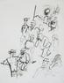 George Grosz 22 3/4 x 17 1/4 in.  (57.8 x 43.8 cm) Ink drawing on paper