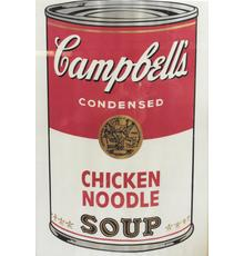 Andy Warhol, Chicken Noodle, from Campbell's Soup I, 1968