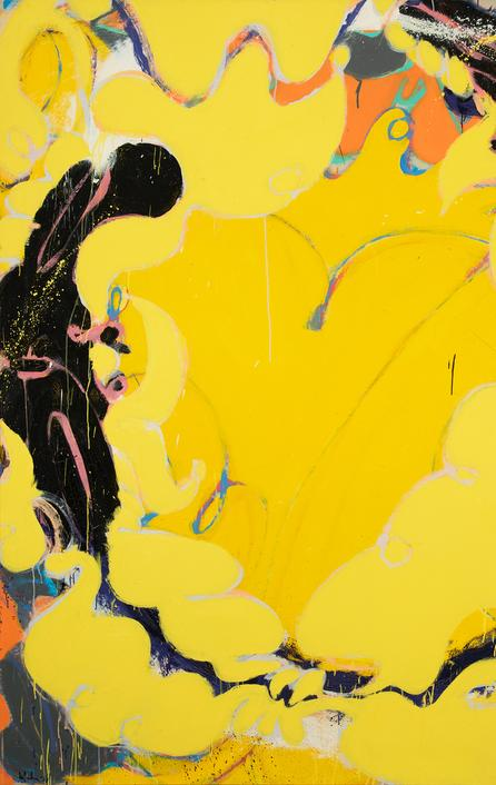 Norman Bluhm, Golden Flaxen Maiden, 1978
