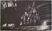 Harry Sternberg, Open Hearth, 1937, lithograph