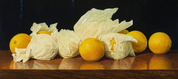 William Joseph McCloskey, Valencia Oranges, 1889
