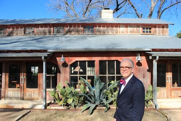 Lark Mason standing in front of his new iGavel headquarters in New Braunfels, Texas