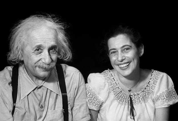 Albert Einstein and Ilse Sternberger Princeton, 1950 Courtesy of the Marcel Sternberger Collection.  Copyright Stephan Loewentheil 2016