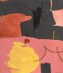 James Brooks Lurry, 1962 Acrylic on canvas 48 x 42 inches