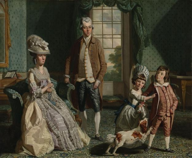 John Singleton Copley, The Fountaine Family, 1776.