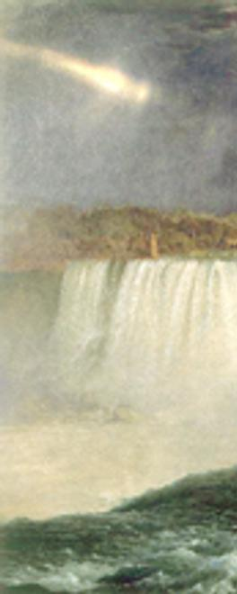 Frederic Edwin Church (1826–1900) Niagara, 1857 Oil on canvas, 40 x 90½ inches Collection Corcoran Gallery of Art, Washington, DC, Museum Purchase, Gallery Fund, 76.15