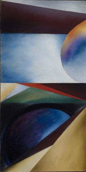 Ida Ten Eyck O'Keeffe (American, 1889–1961) Creation, c.  1936.  Oil on canvas, 23 x 28 in.  Gerald Peters Gallery