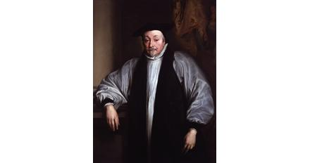 After van Dyck, Archbishop William Laud.  National Portrait Gallery.