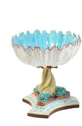 19th century Royal Worcester urchin and dolphin compotes that sold for an impressive $10,115 setting an new auction record for this form.