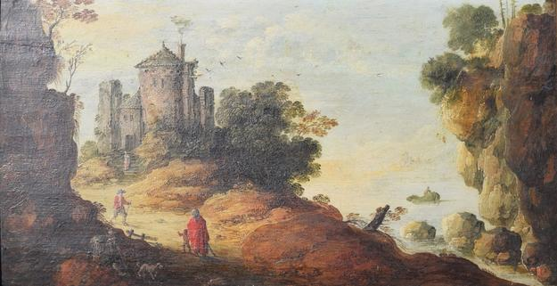 This 17th century oil on board painting by the prolific Dutch landscape artist Jan Van Goyen (1596-1656) is the expected headliner at Auction Life's October 16 auction in Boca Raton, Florida.