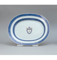 Jefferson Armorial Chinese Export Platter