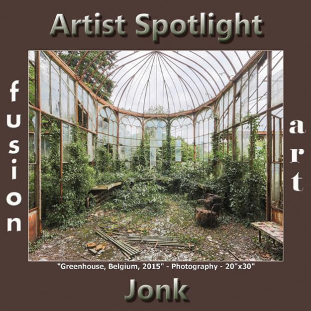 Jonk - Fusion Art's Digital & Photography Artist Spotlight Winner for November 2018 www.fusionartps.com