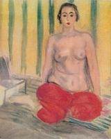 "Matisse's 1925 painting, ""Odalisque in Red Pants"" was stolen from a Venezuelan museum and replaced by a forgery in 2002.  The original has been recovered by FBI in Miami."
