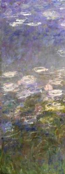 A panel from Monet's Agapanthus Triptych