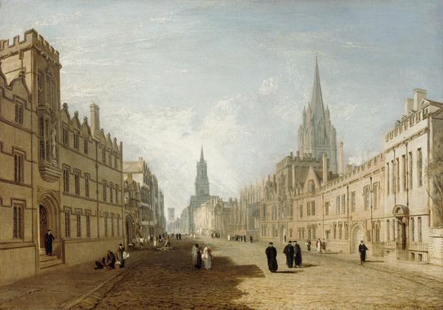 The High Street, Oxford (1810) by JMW Turner