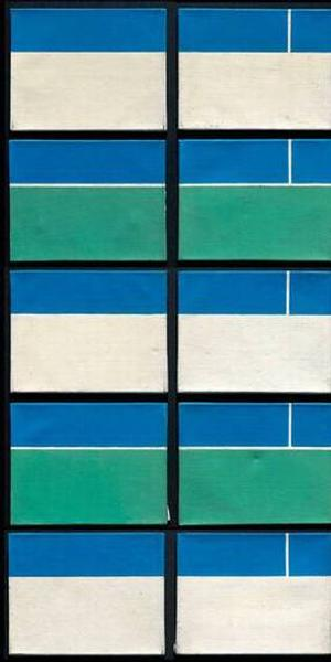"Ralph Coburn's ""Blue, White, Green"""