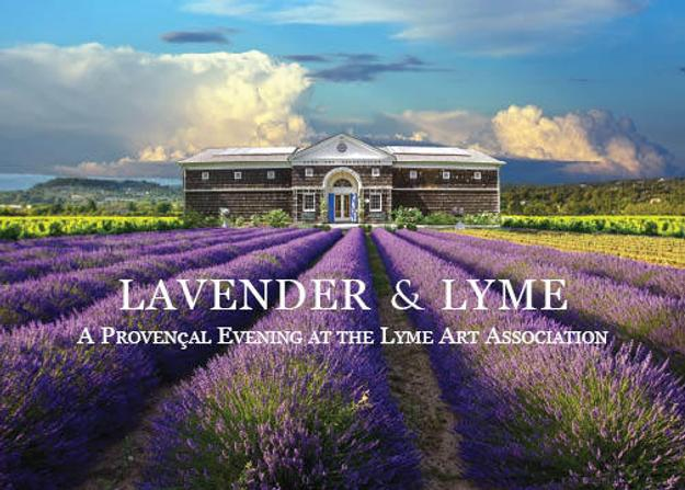 Lyme Art Association presents a summer fundraiser: Lavendar & Lyme.