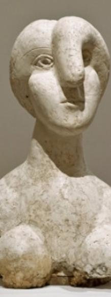 Bust of a Woman (Marie-Thérèse) by Picasso, 1931.