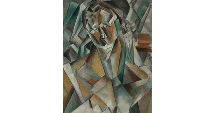 Picasso's Femme Assise (1909).