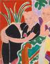 Henri Matisse, La Conversation (The Conversation), 1938; oil on canvas, 18 3/8 in.  x 21 3/4 in.  (46.67 cm x 55.25 cm); Collection SFMOMA, Bequest of Mr.  James D.  Zellerbach; © Succession H.  Matisse / Artists Rights Society (ARS), New York