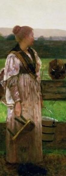 Winslow Homer's Milking Time